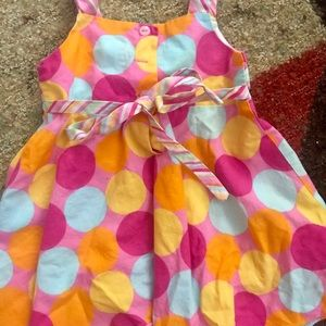 Chantilly Place Dresses - Colorful polka dot dress